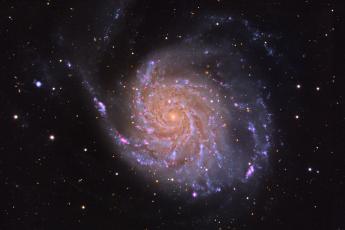 M101 - Галактика Вертушка