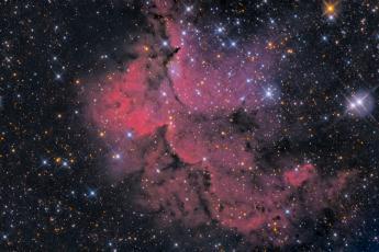 NGC7380 - туманность Колдун