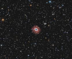 M57 - Туманность Кольцо (RGB+Ha)