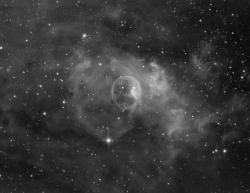 NGC7635 - Туманность Пузырь в Ha